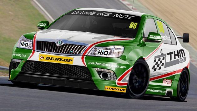 Studie týmu TH Motorsport a vozu Škoda Octavia vRS pro seriál BTCC.