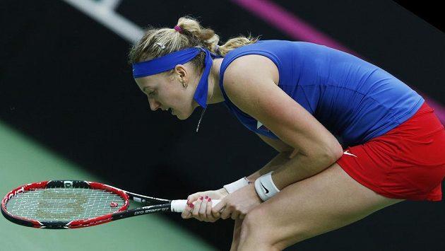 Petra Kvitová dala do nedělního finále všechny své síly.