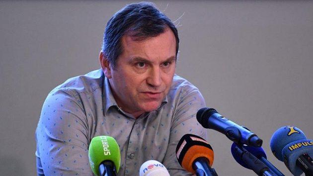 Ředitel hokejové extraligy Josef Řezníček