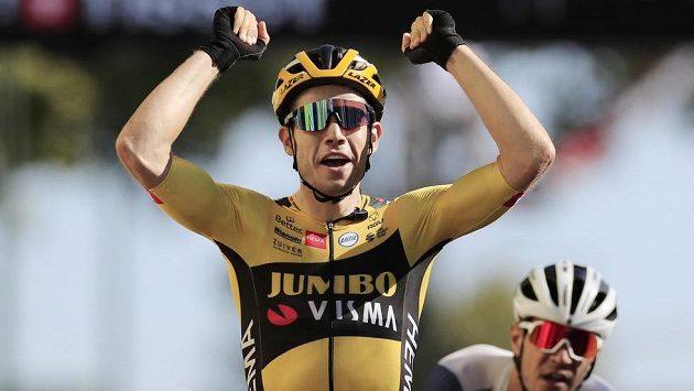 Wout Van Aert získal na Tour de France druhé vítězství