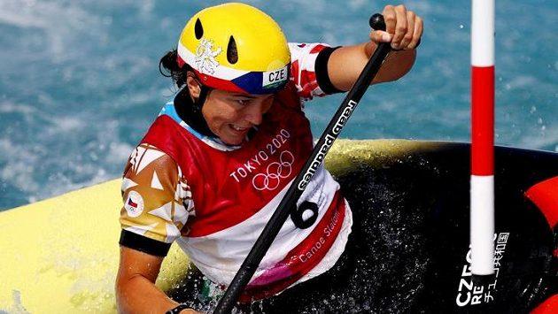 Kanoistka Tereza Fišerová obsadila ve finále olympijského závodu v Tokiu šesté místo