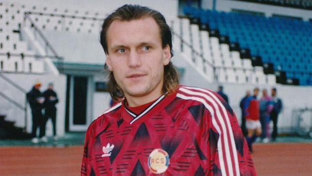 Václav Němeček v dresu reprezentace.