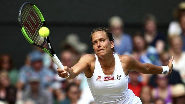 Barbora Strýcová čeká finále čtyřhry ve Wimbledonu.