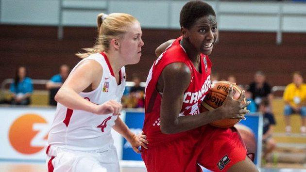 Mladé české basketbalistky nezastavila ani Kanada.