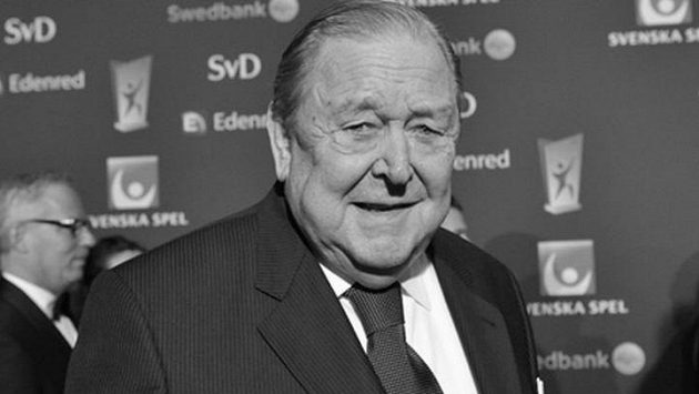 Zemřel dlouholetý předseda Evropské fotbalové unie Švéd Lennart Johansson.