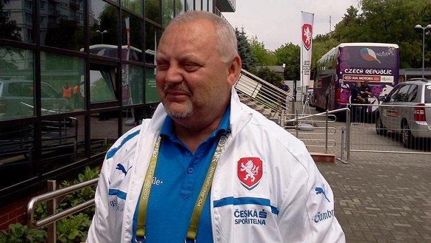 Vedoucí národního týmu Jaroslav Dudl