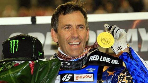 Američan Greg Hancock v době, kdy ještě závodil.