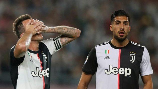Mario Mandžukič a Emre Can nefigurují na soupisce Juventusu pro nadcházející ročník Ligy mistrů.