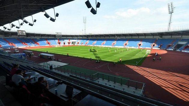 Stadión ve Vítkovicích - ilustrační foto.
