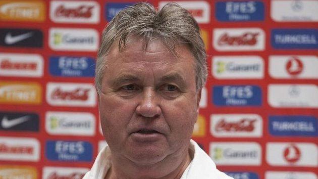 Nizozemský trenér Guus Hiddink