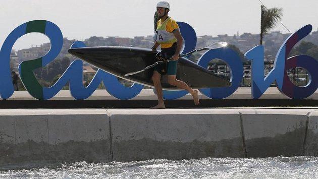 Olympijský kanál pro soutěže ve vodním slalomu - ilustrační foto.