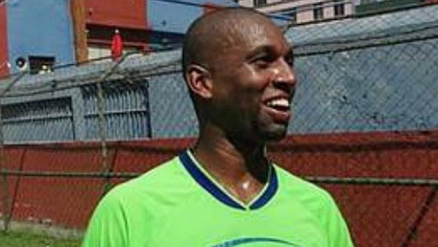 Brazilský fotbalový útočník Joao Rodrigo Silva Santos.
