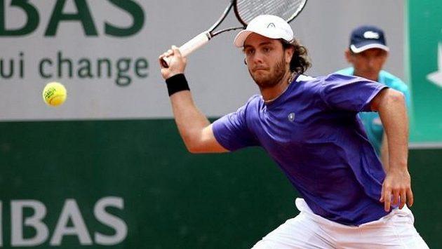 Marco Trungelliti během French Open