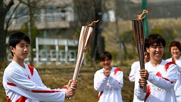 Štafeta s olympijskou pochodní (ilustračnní foto)