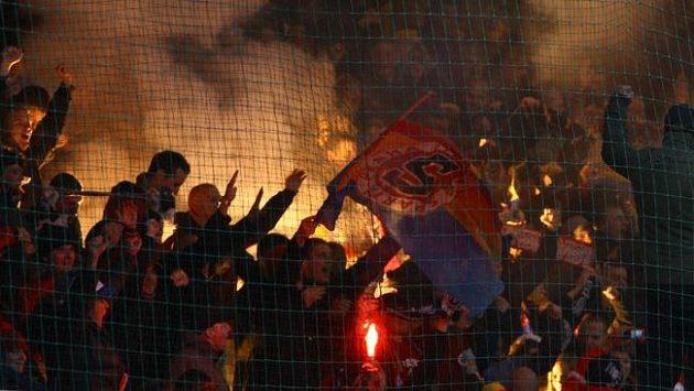 Fanoušci AC Sparta Praha.