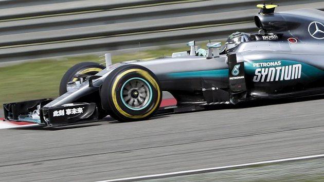 Nico Rosberg na Velké ceně Číny.