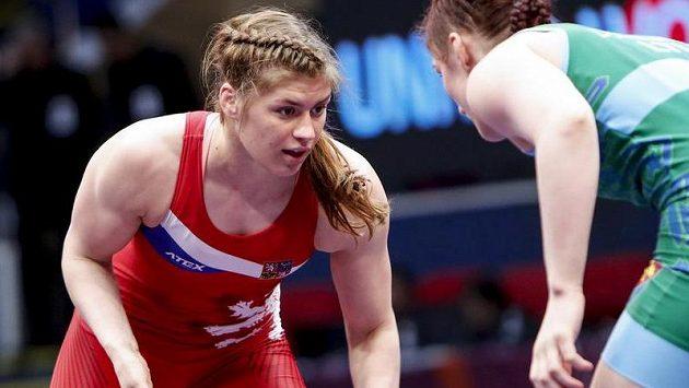 Zápasnice Adéla Hanzlíčková ve finále favorizované soupeřce podlehla 6:11.