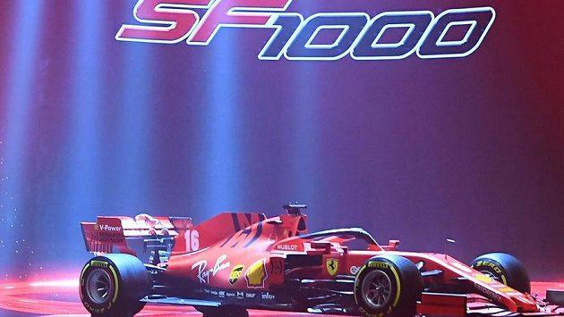 Monopost Ferrari.