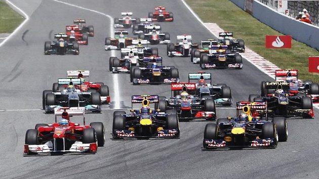 Znáte týmy letošního ročníku F1?