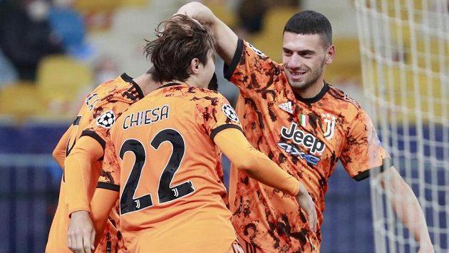 Sestřih zápasu Ligy mistrů Dynamo Kyjev - Juventus