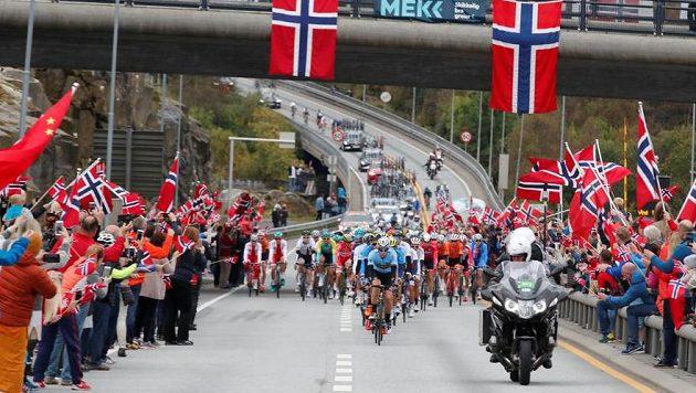 Poslední cyklistické mistrovství světa se konalo v norském Bergenu.