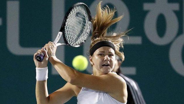 Karolína Muchová během finále v Soulu.