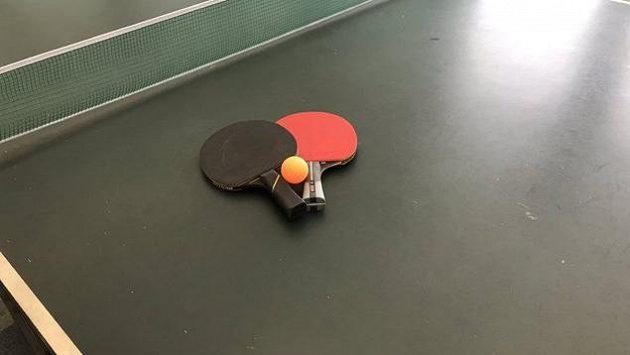 Stolní tenis - ilustrační foto.
