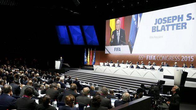 Kongres FIFA v Curychu.