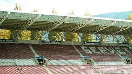 Stadion Servette Ženeva.