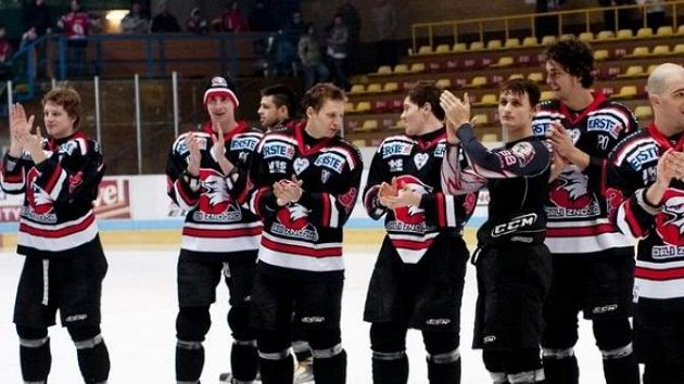 Radost hokejistů Znojma