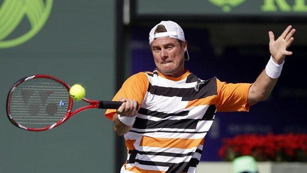 Australský tenista Lleyton Hewitt na turnaji v Miami.