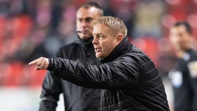 Trenér Teplic Stanislav Hejkal