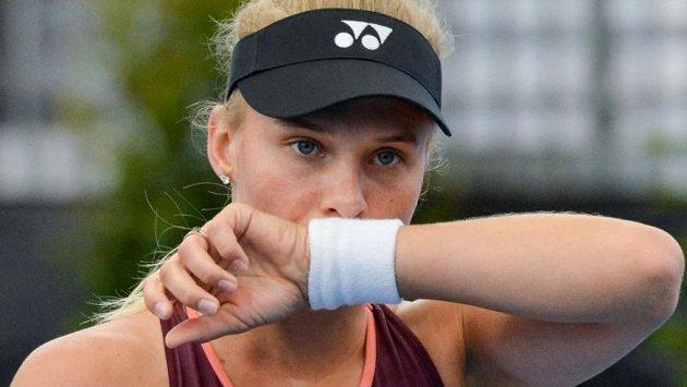 Ukrajinská tenistka Dajana Jastremská