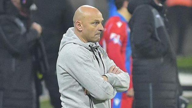 Trenér Plzně Adrián Guľa.
