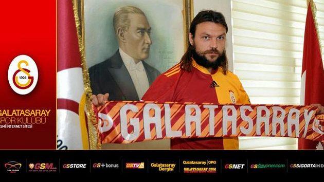 Tomáš Ujfaluši coby čerstvá posila Galatasaray Istanbul