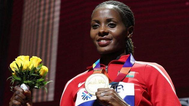 Beatrice Chepkoechová je světovou rekordmankou na 3000 metrů
