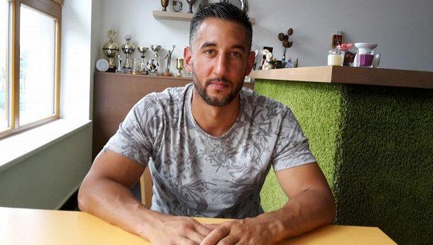 Lukáš Stránský, kondiční trenér fotbalistů Dukly Praha.