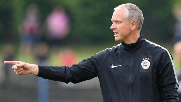 Spartu povede na cestě k lepším zítřkům trenér Václav Jílek.