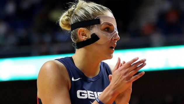 basketbalová hvězda Elena Delle Donneová