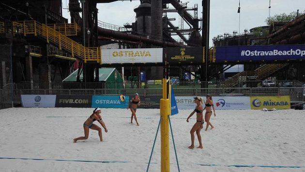 Turnaj Světového okruhu FIVB v plážovém volejbalu zažije v tomto týdnu ostravskou premiéru.
