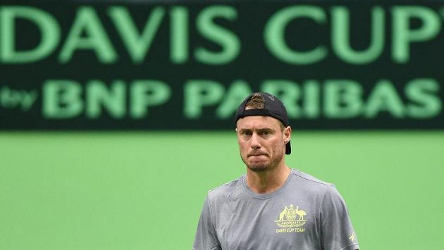 Australan Lleyton Hewitt Davis Cup zbožňuje.