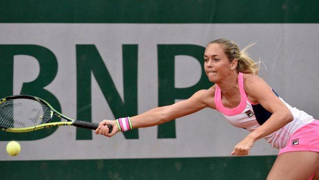 Česká tenistka Klára Koukalová.