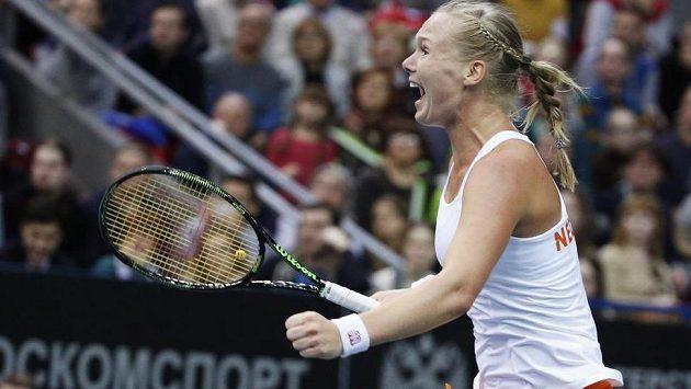 Rozjásaná Kiki Bertensová, Nizozemky ve Fed Cupu postupují!