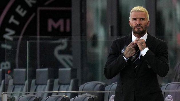 Majitel Inter Miami David Beckham.
