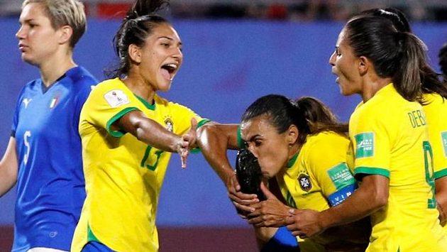 Brazilkám stačila na vítězství jediná branka.