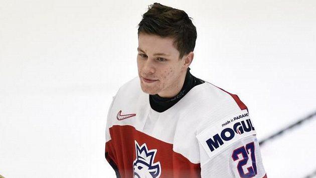 Kapitánem české hokejové dvacítky na nadcházejícím mistrovství světa v Edmontonu bude útočník Jan Myšák