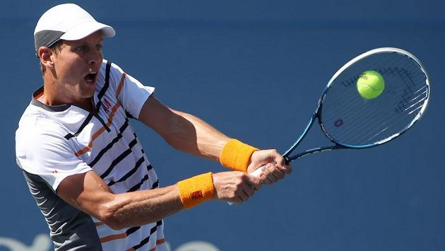 Tomáš Berdych nedal ve čtvrtfinále turnaje v Pekingu Johnu Isnerovi šanci.