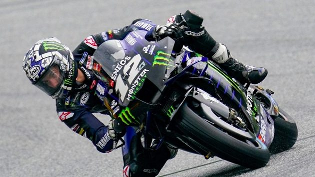 Španělský motocyklista Maverick Viňales