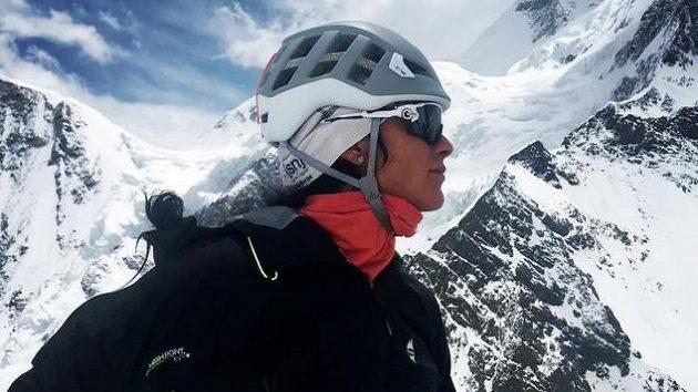 Horolezkyně Klára Kolouchová vystoupila jako první česká žena na druhou nejvyšší horu světa K2