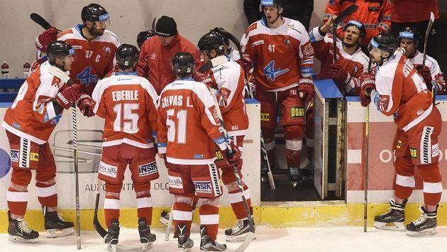Time out týmu Olomouce.